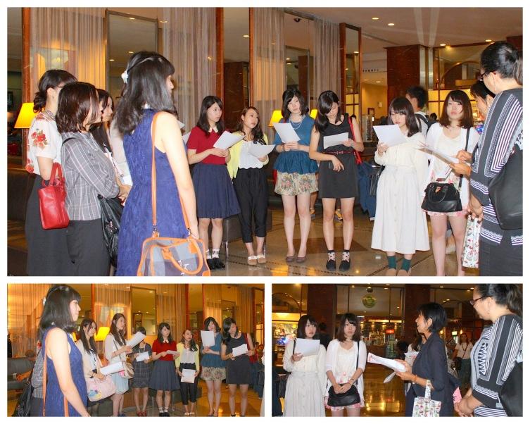 Japan Study Tour-Workshop Setpt 2014