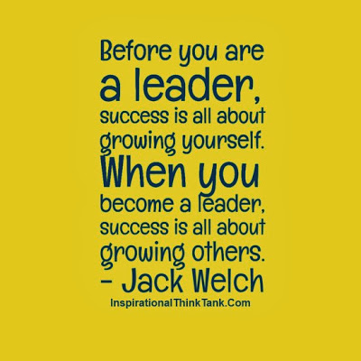 Before you are a leader-Leadership Quotes Pictures-Jack Welch-Success Quotes