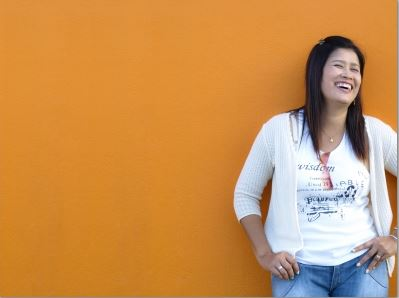 Laughing Young Lady by thaikrit